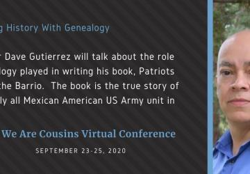 Dave Gutierrez - Writing History With Genealogy