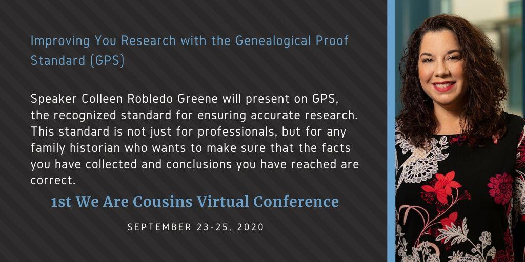 Improving You Research with the Genealogical Proof Standard (GPS) - Colleen Robledo Greene