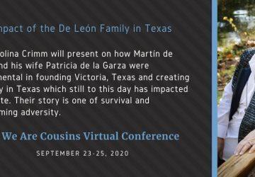 The Impact of the De León Family in Texas - Dr. Carolina Crimm